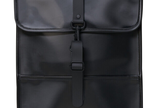 Foto goedkope Rains Backpack Shiny Black