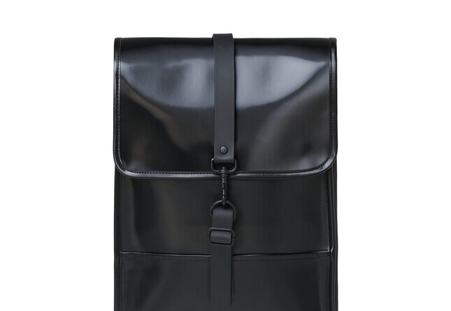 Foto goedkope Rains Backpack Mini Shiny Black